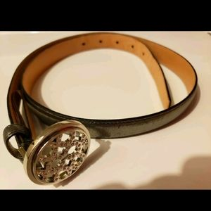 Coach Op Art Pave Belt Sz Small